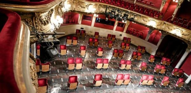 Theater in corona-opstelling