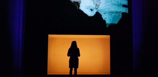 Het concept van deze voorstelling is prachtig, maar de actrice in de vitrine zorgt ook voor afstand wat het meevoelen belemmert