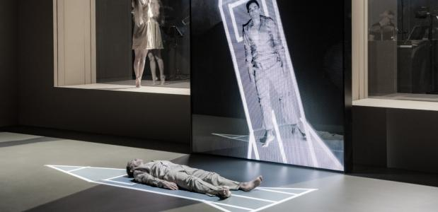 Scène uit Lazarus, foto: Jan Versweyveld