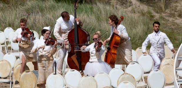 Het is vooral de krachtige muziek die Lost tango zoveel glans meegeeft; foto: Nichon Glerum