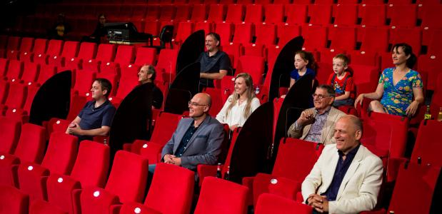Proefopstelling Theater Markant in Uden