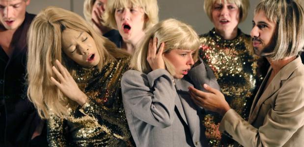 Sprankelende vibes bij deze nieuwe generatie acteurs Foto: Sanne Peper