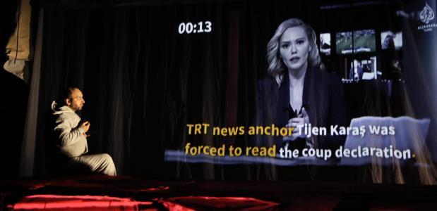 De mislukte machtsgreep in Turkije in 2016 komt ook aan de orde, foto: Sanne Peper