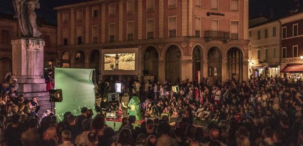 Santarcangelo performance festival vlakbij Rimini