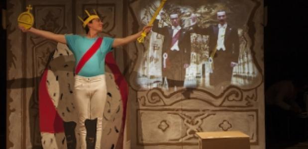 Steef de Jong -hier in Ludwig- is een van de vele artiesten op De Parade