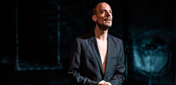 Justus van Dillen speelt Judas, foto: Bart Grietens