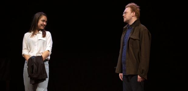 Fabian Jansen en Melody Klaver; foto: Annelies Scheepens