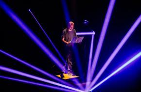 Vincent van der Valk speelt Koliek van Rainer Goetz in regie van Thibaud Delpeut, foto: Ben Houdijk