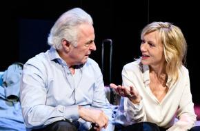 Messcherpe komedie met Huub Stapel en Johanna ter Steege, foto Annemieke van der Togt