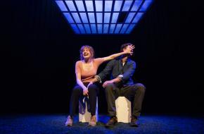 Beau Schneider en Britte Lagcher in Constellations, foto: Anne van Zantwijk