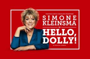 Simone Kleinsma in Hello Dolly!. Foto Govert de Roos