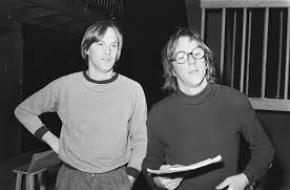 Bram en Freek in 1978, foto: Rob Bogaerts
