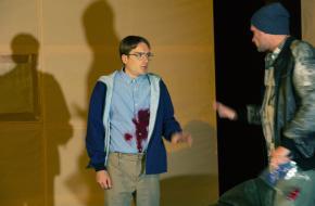 Mattias van de Vijver maakt van Christopher een innemende puber, foto: Sanne Peper fot