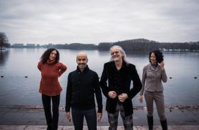 v.l.n.r. Suzan Tunca (hoofd ICK Academy), Emio Greco | Pieter C. Scholten (artistiek directeuren), Suzy Blok (hoofd ICK Artist S