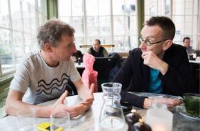 Lebbis en Jansen: de energie spat eraf - foto: Janita Sassen