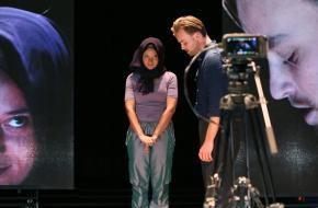 Tim Olivier Somer en Jade Olieberg; foto: Sanne Peper