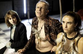 Seks(e)(n) zit vol prikkelende vragen, vlnr Rijxman, De Wolf en Broods, foto: Koen Broos
