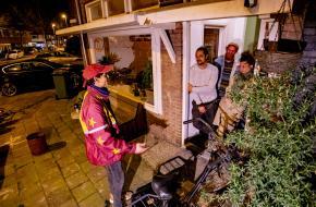 Nacht eindigt met een privé-voorstelling, foto: Ruben van Vliet